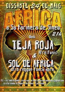 Nit africana, demà a sa Farinera.