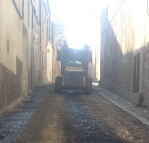 Fa un any l'equip de govern de PP i el PI ja va aprofitar els fons del Consell de Mallorca per asfaltar part del paviment deteriorat del municipi.