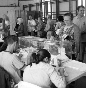 Dia 24 de maig es celebra una nova jornada electoral.