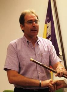 Pep Oliver Rebassa, actualment diputat en el Consell de Mallorca.