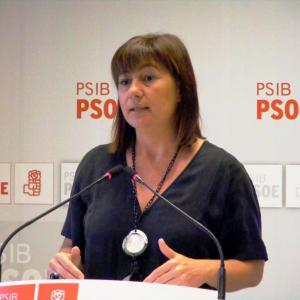 Francina Armengol serà demà vespre a Sineu, presentant la candidatura del PSIB-PSOE local.