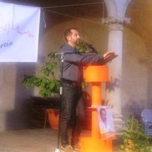 Pere Joan Jaume té molt bona oratòria i ahir ho va tornar demostrar.