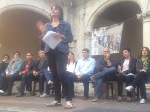 """Magdalena Genovart 'Remirada' trobava que """"Sineu no s'ho mereix""""."""