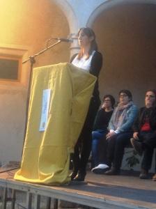 Joana Maria Mestre 'Fornareta' va esplaiar-se i va amollar tot allò que es sentia.