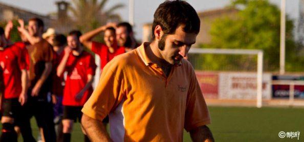 Toni Florit, en la seva etapa com a entrenador del Sineu [foto: Macià Puiggròs].