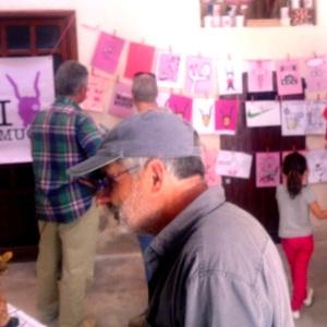 'Monara', en la darrera exposició de la 'Muchal Foundation', el dia de sa fira.