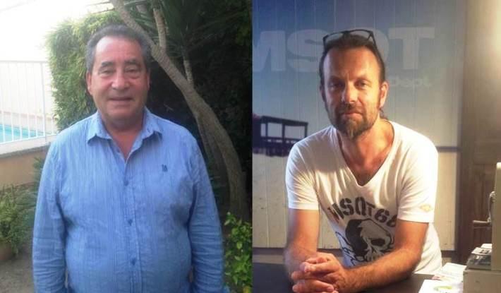 Sebastià Darder (esquerra) i Steffen Schmitt (dreta), ens expliquem com creuen que s'hauria de gestionar el Pla Turístic a Sineu.