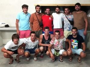 Sineuers renovats i ascendits del juvenil en l'equip d'enguany (foto: Jaume Niell)