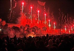 Molts sineuers treballen a la capital, Palma. Enguany la festivitat de la capital també serà dia de festa a Sineu.