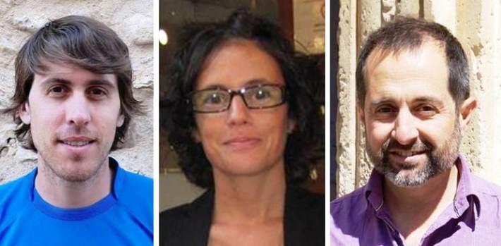 D'esquerra a dreta: Mulet (PP), Martín (GxS) i Jaume (SsM).