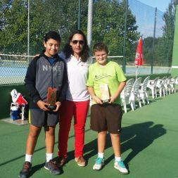 entrega trofeus tennis