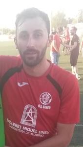 Lluís Simó, golejador aquesta passada jornada.