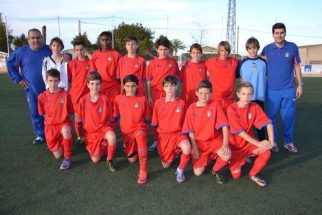 La selecció sub-12. Foto C. Juárez.