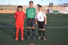 Els capitans dels dos equips. Foto cedida per Cristóbal Juárez.