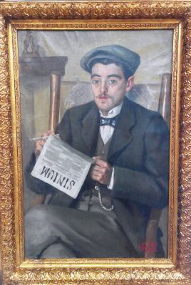 Retrat de l'activista cultural i polític Josep Picó.