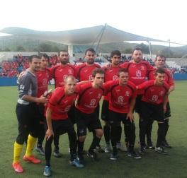 El primer equip del C.E.Sineu.