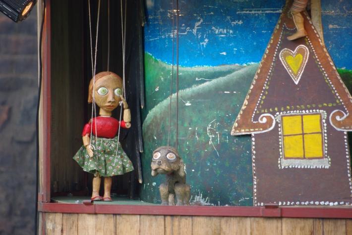 """Imatge de l'espectacle """"El cavallet de contes"""" de """"Divádlo Ja"""" que es podrá veure a Sineu"""