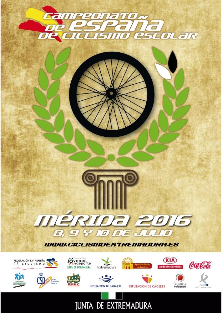 cartell campionat mèrida