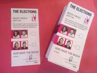 Les paperetes de les Eleccions Muquicipals 2016.