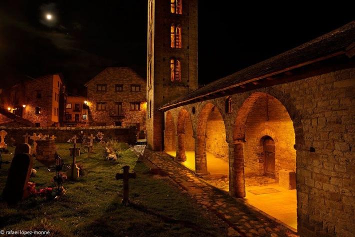 A Vall de Boi (Lleida) es celebra una Nit de les Llums, que també treballa la llum i el patrimoni.