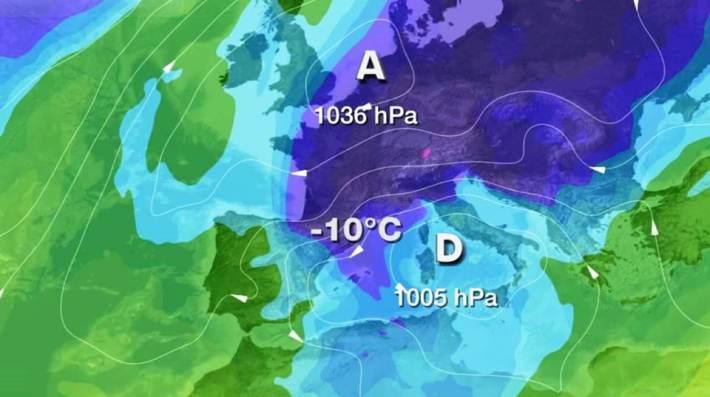 Mapa de TV3 per dimarts 17, diada de Sant Antoni.