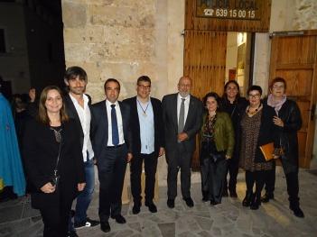 Equip de govern amb el president del Consell