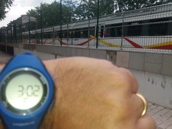 Aquest tren havia de passar a les 2:40 pm