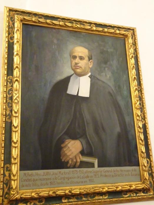 El quadre oficial de l'Hermano Juan, a la sala de plens.