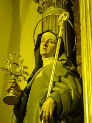 Imatge de santa Clara