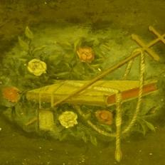 Detall del retaule de Sineu