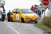 Foto del cotxe dels sineuers durant la competició [Toni Mas]