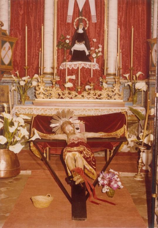 Fotografia del santcrist de la Sang [Antoni Sampol i Frau]