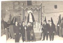 Pas de la Mare de Déu de la Soledat, circa 1970. Cedida per Antònia Torelló i Vanrell.