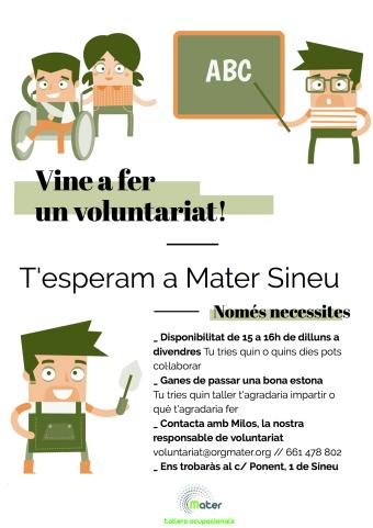 Mater Voluntariat