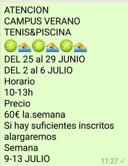 campus tennis