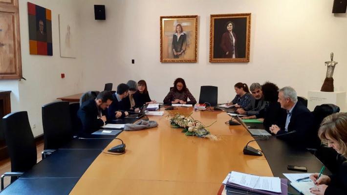 Consell de govern del Consell de Mallorca d'avui, en què s'han aprovat les ajudes per a infraestructures municipals.