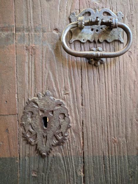 Detall del pany i de la baula. [Fotografia de Joan Munar]